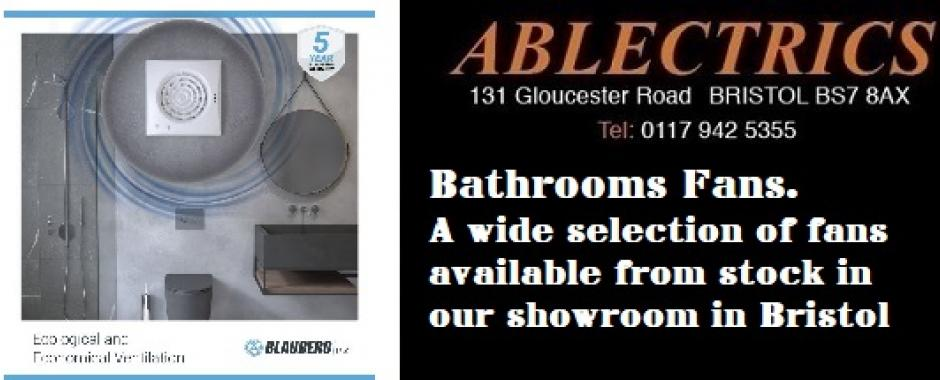 inline fan, axial fan, centrifugal fan, bathroom fan, ip rated fan, bathroom fans in bristol, bathroom fans stockist