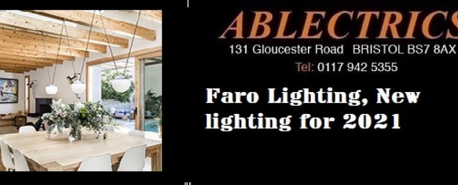 faro lighting, faro barcelona, modern lighting, trendy lighting, new lighting, new lighting for 2021,