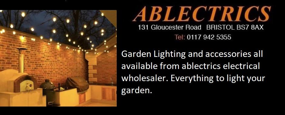 garden lighting, festoon lighting, outdoor lighting, ip rated lights, swa cable, wiska box, ip68 glands, wiska gel