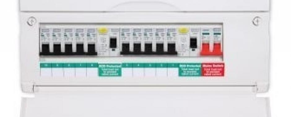 BG Electrical - Fully Loaded 17th Edition Fuse Board : Electricsandlighting.co.uk