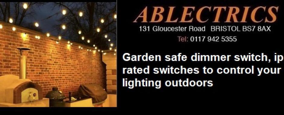 outdoor dimmer, ip dimmer, ip66 dimmer, outdoor led dimmer, garden dimmer, garden led dimmer, garden lighting, lighting control,