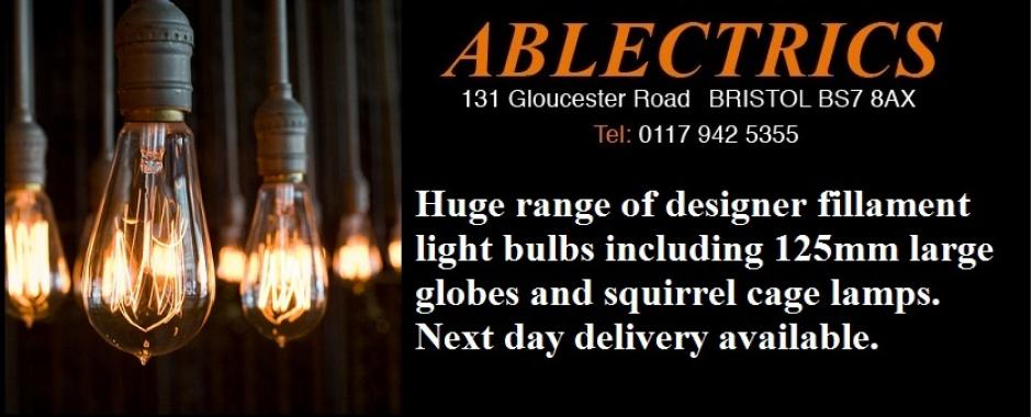 We have a huge choice of vintage filament lamps. From squirrel cage lamps  to the giant 120mm feature globe