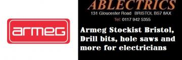 armeg supplier, armeg stockists, electricians tools, drill bits, hole saws,