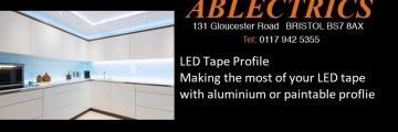 led tape, tape profile, mood lighting, wall wash, wall lighting,