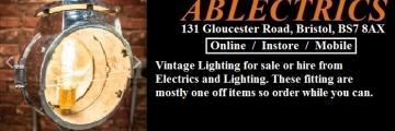 restored vintage lighting, vintage lighting for hire, vintage lighting sale, genuine vintage lighting, vintage style,