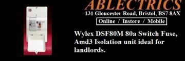 consumer units, wylex amd3, wylex amendment 3, fuse board, switch fuse,