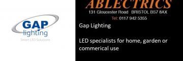 gap lighting, gap led, gap stockist, gap outdoor, led stockists, led outdoor