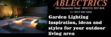 garden lighting, garden lighting inspiration, garden lighting ideas, spike lights, flood lights, festoon, bespoke festoon, outdoor dimming, ground lights, path lighting, walkover lighting, wall wash