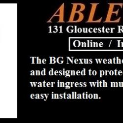 bg electrical, bg nexus, nexus storm, weathproof switches, weatherproof sockets, outdoor sockets and switches