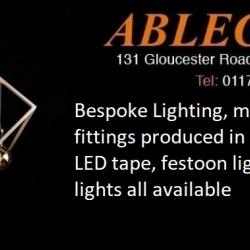 bespoke lighting, made to order lighting, festoon lighting, led tape, statement lighting, fraser besant lighting, cannon lights,