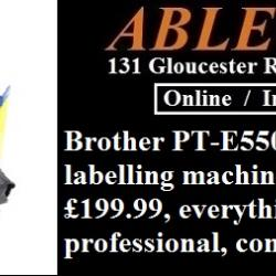 brother printers, brother labelling, labelling machine, labelling app, electrician labels,