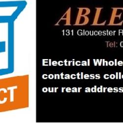first fix, second fix, click and collect, contactless collection, bristol contactless collection, electrical contactless collection,