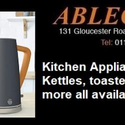 kitchen appliances, kettles, toasters, buying a kettle in bristol, buying a toaster in bristol
