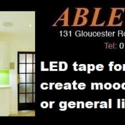 led lighting, led tape, kitchen lighting, 2700k led tape, 4000k led tape, mood lighting, task lighting, worktop lighting,