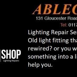 lighting repair, lighting restore, restore service, repair service, lighting rewire, light rewire,