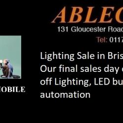 lighting on sale, lighting sale, light sale, bristol lighting sale, bristol sale, lighting for sale in bristol, lighting offers, reduced lighting, lighting offers