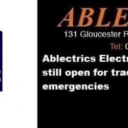 ablectrics, electrical wholesale, electrical wholesaler open in bristol, wholesalers open in bristol, electrical shops open in bristol, wholesalers open in the south west