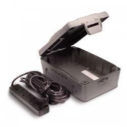 outdoor box, outdoor ip54, outdoor power, bg weatherproof, bg outdoor