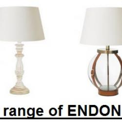 endon lighting, endon table lamps, endon floor lamps, floor lamps, table lamps, new endon, 2015 range,