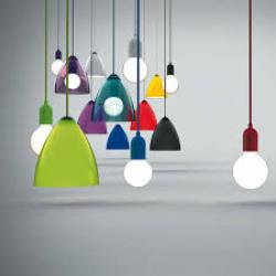 funk pendant, coloured pendant, ceiling ligting, bedroom lighting, coloured lighting