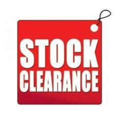 clearance, reduced to clear, ex-display, sale, shop refit,