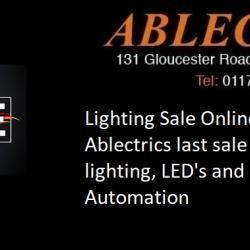 lighting sale bristol, light sale, online lighting sale, lighting sale this weekend, online sale this weekend, bristol lighting sale, ablectrics lighting sale