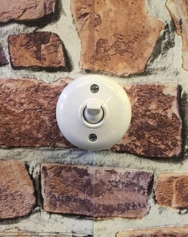 Schneider Vintage Style Round Toggle Switch