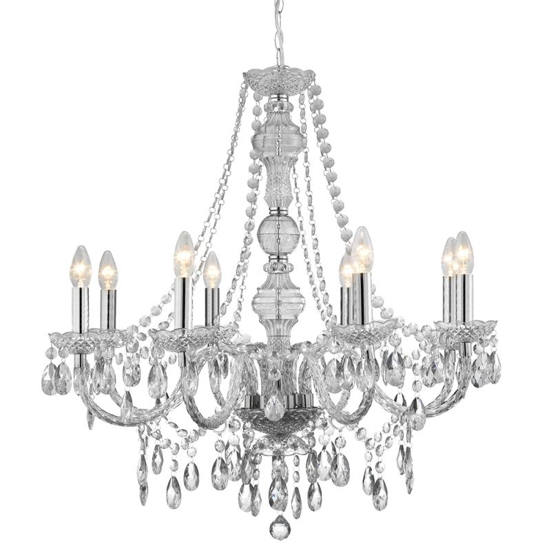 marie therese style chandelier clear acrylic 8 arm