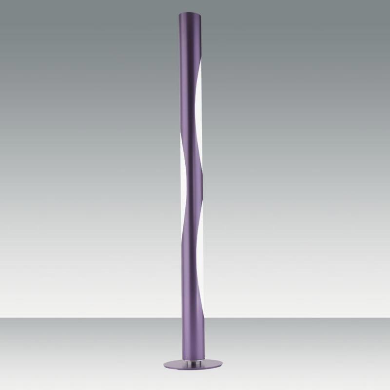 Purple Floor Lamp fabas luce 2928-10-267 carlotta floor lamp purple