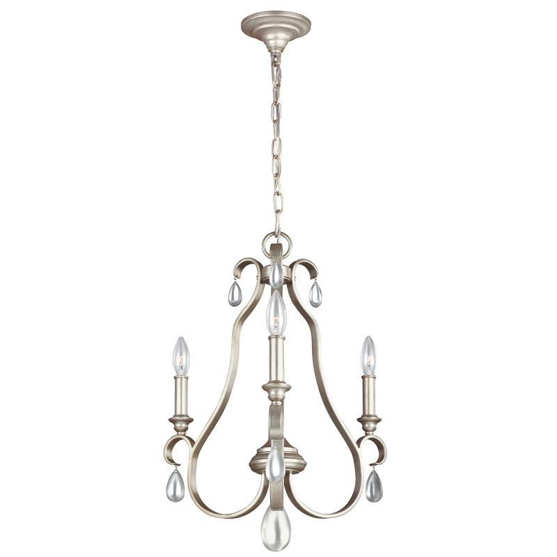 Elstead Feiss DeWitt 3 Light Chandelier