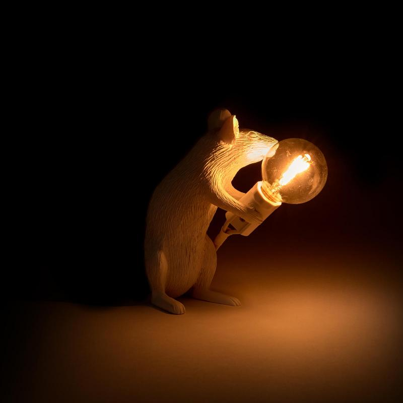 Sitting Mouse Table Lamp