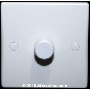Schneider Ultimate 1 Gang 2 Way Rotary Dimmer Switch