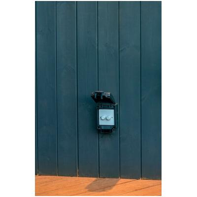Garden Rated Ip65 2g Dimmer Switch, Outdoor Dimmer Switch