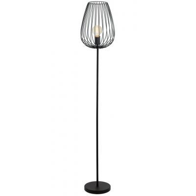 Eglo Newtown 49474 Black Metal floor Lamp   Electricsandlighting ...