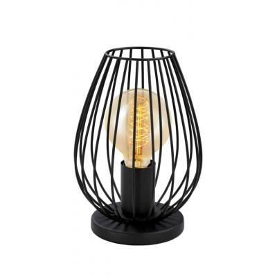 Eglo Newtown 49481 Black Metal Table Lamp | Electricsandlighting ...