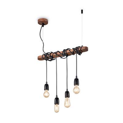 Ideal Lux 176352 Electric SP4 Rustic Bar Pendant