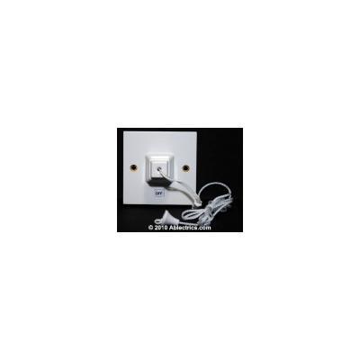 schneider exclusive 1 gang 45a shower pull switch. Black Bedroom Furniture Sets. Home Design Ideas