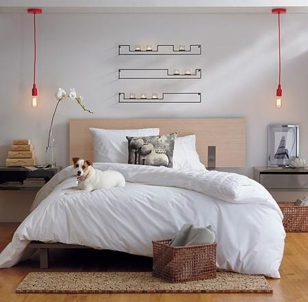 Red Feature Pendant Lights