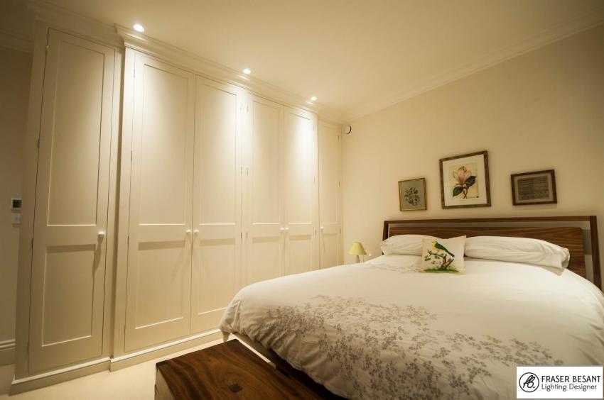 Bedroom Downlights To Light A Waredrobe